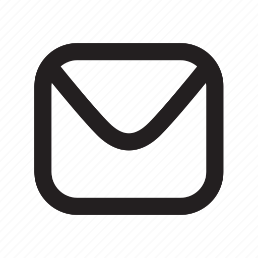 envelope, inbox, mail, message icon