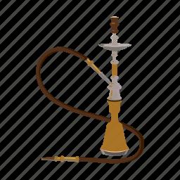 cartoon, hookah, pipe, relax, smoke, turkey, turkish icon