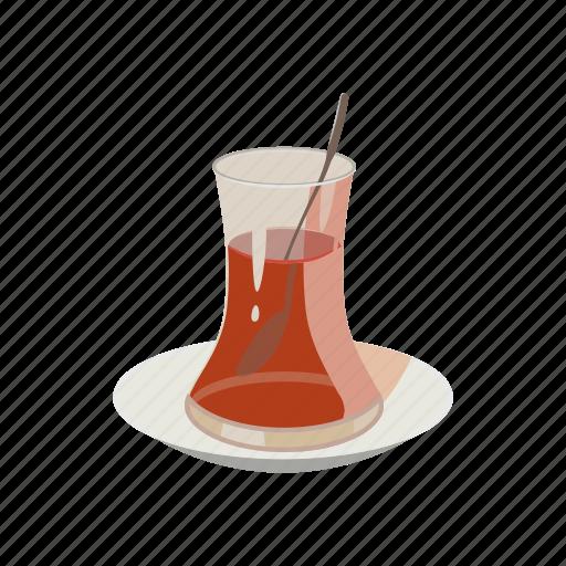 cartoon, drink, hot, tea, traditional, turkey, turkish icon