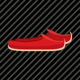 cartoon, fashion, footwear, shoe, slipper, traditional, turkish icon