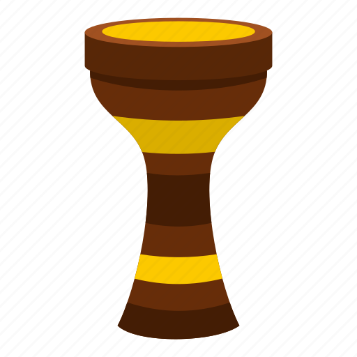 darbuka, drum, instrument, music, musical, percussion, traditional icon