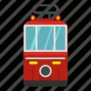 city, front, istanbul, taksim, tram, turkey, view icon