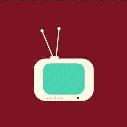 television, televisor, telly, tv icon