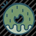 donut, peaks, sweet, twin icon