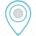 geo, location, place, pointer icon