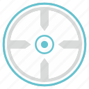 aim, kill, pointer, target icon