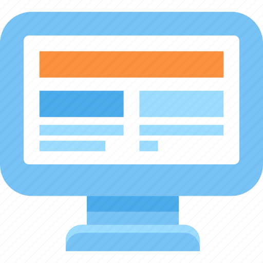 Web, screen, computer, monitor, internet icon - Download on Iconfinder