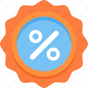badge, discount, sale icon