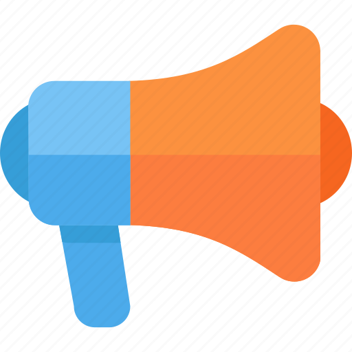 advertise, megaphone, promote icon