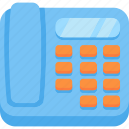 office, phone icon