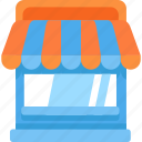 building, shop icon