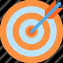 aim, target, arrow