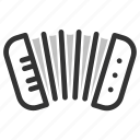 cajun, genres, harmonica instruments, mp3, music, music genres icon