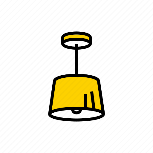 ceiling, chandelier, lamp, lampshade, luminaire icon
