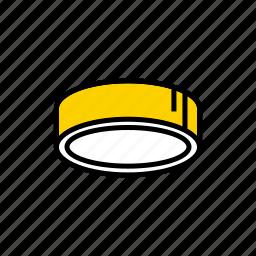 ceiling, lamp, lighting, luminaire icon