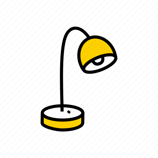 lamp, lighting, luminaire, reading icon