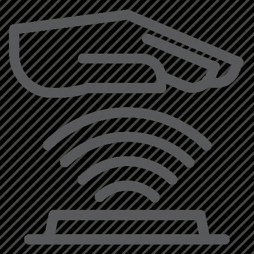 biometrics, palm, palmprint, scanning, verification icon