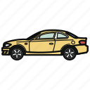 auto, car, coupe, vehicle icon