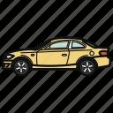 auto, car, coupe, vehicle