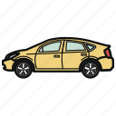 auto, car, hybrid, vehicle icon