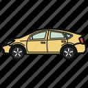 auto, car, hybrid, vehicle