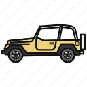 auto, car, jeep, vehicle icon