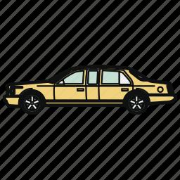 auto, car, limousine, vehicle icon