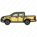 auto, car, pickup, vehicle