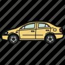 auto, car, sedan, vehicle