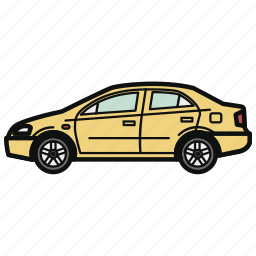 auto, car, sedan, vehicle icon