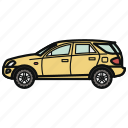 auto, car, suv, vehicle icon