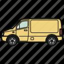 auto, car, van, vehicle, wagon
