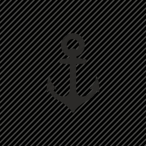 anchor, marine, salor, sea icon