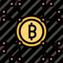 Bitcoin Cryptocurrencies Exchange Money Trade Icon