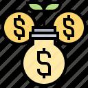 account, deposit, interest, profit, savings