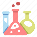 flask, chemistry, chemical, experiment, science, research