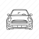 auto, automobile, car, ride, transportation, travel, vehicle icon