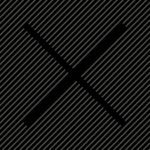 Cancel, closed, decline, denied, negative, no icon - Download on Iconfinder