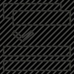 arrow, down, move, sort, sortable, swap, transfer icon
