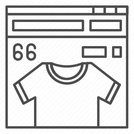 apparel, ecommerce, online, page, shop, store icon