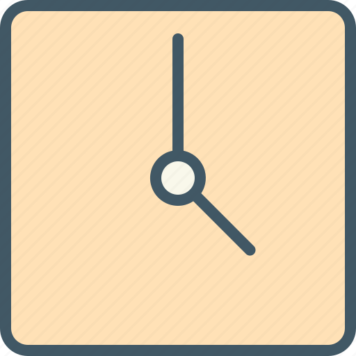 app, apps, clock, time, ui, ux, web icon