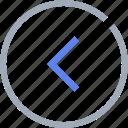 back, control, multimedia icon