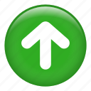 arrow, arrows, direction, directional, up arrow icon