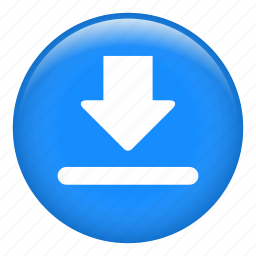 down arrow, download, downloading, file download, save file icon
