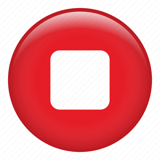 multimedia option, music player, player, square, stop video, video icon