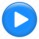 arrow, circle, multimedia option, music, video player icon