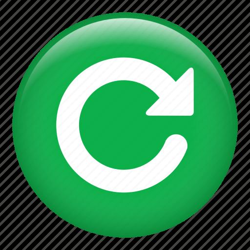 circular arrow, direction, loading, orientation, refresh icon