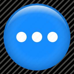 app, choices, circle, menu, options, setup icon