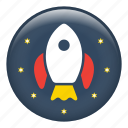 rocket, rocket launch, rocket ship, space ship, spaceship icon