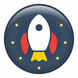 rocket, rocket launch, rocket ship, space ship, spaceship icon